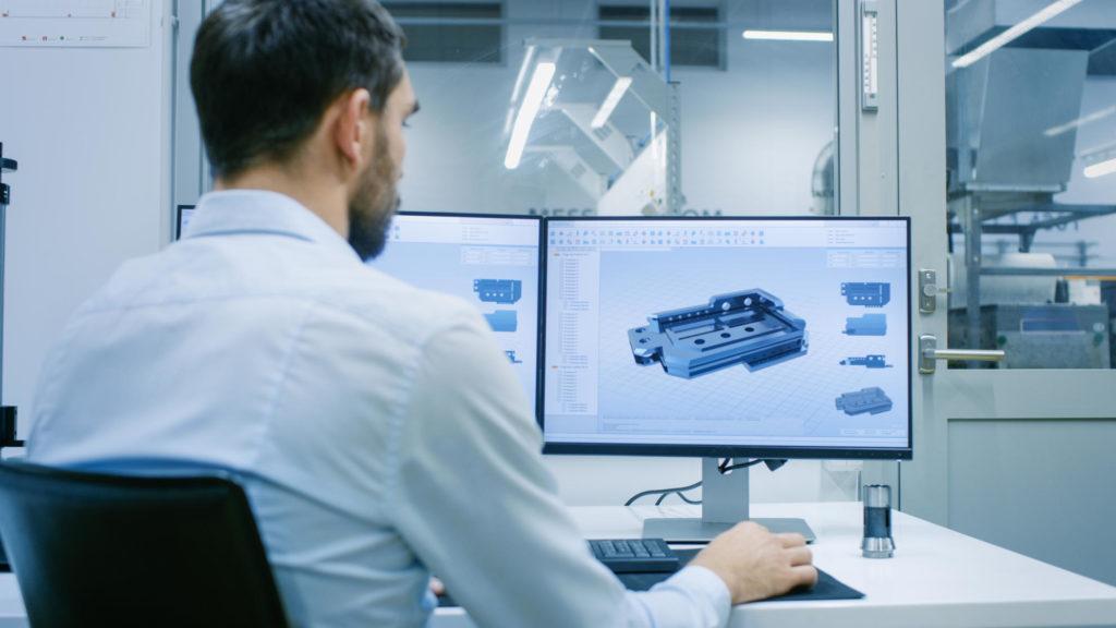 CAM Computer aided manufacturing Heintzmann gmbH Frästeile CNC Fräsen